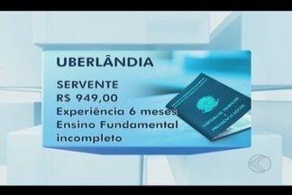 Sine tem vagas de emprego disponíveis em Uberlândia nesta terça-feira - Salários variam de R$ 949 à R$ 4.600. Unidade fica na Avenida Nicomedes Alves dos Santos, 136, no Centro.