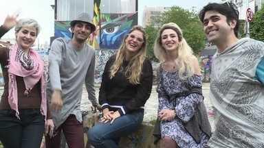 Iranianos declaram amor pelo Brasil - Rafa Brites descobre os segredos da maquiagem persa