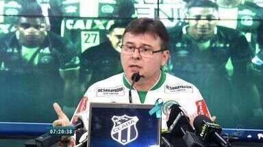 Confira as notícias do Esporte do Bom Dia CEará desta terça-feira (6) - Ceará apresenta novo dirigente de futebol.