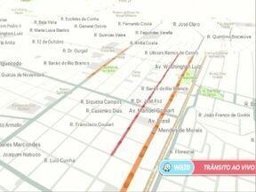 Veja a movimentação das principais avenidas de Pres. Prudente Aplicativo - Aplicativo Waze ajuda a escolher os melhores trajetos.