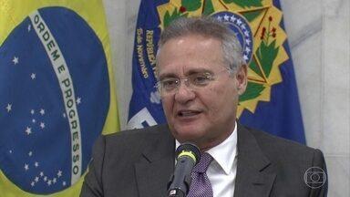 Senado apresenta recurso contra decisão de afastar Renan Calheiros - O Senado apresentou um recurso contra a decisão do ministro Marco Aurélio Mello, do STF, que afastou Renan Calheiros da presidência da casa.