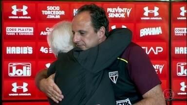 Rogério Ceni está de volta ao São Paulo, agora como técnico - Rogério Ceni está de volta ao São Paulo, agora como técnico