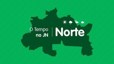 Veja a previsão do tempo para este sábado (10) no Norte. - Veja a previsão do tempo para este sábado (10) no Norte.