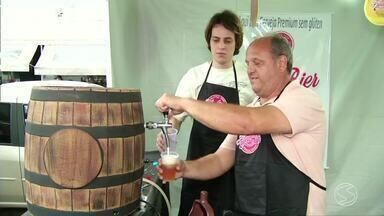 Festival reúne amantes de cerveja em Três Rios, RJ - Abertura foi nesta sexta-feira e evento segue até domingo.