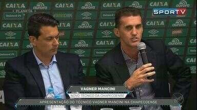 Vagner Mancini vai comandar a Chapecoense na temporada do ano que vem - Técnico de Ribeirão Preto falou sobre a expectativa o time, devastado pelo acidente aéreo na semana passada.