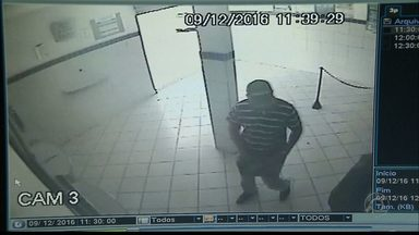 JPB2JP: Homem assalta casa lotérica na Capital - Crime gravado pelo circuito de segurança.