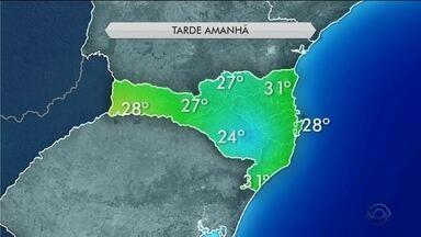 Ar seco chega a Santa Catarina e domingo (11) tem aberturas de sol - Ar seco chega a Santa Catarina e domingo (11) tem aberturas de sol