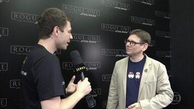 Tiago entrevista Brian Herring na CCXP - Confira!