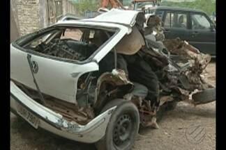 Acidente entre ônibus e carro de passeio deixa um morto em Paragominas - O motorista do veículo menor teria feito uma manobra indevida.