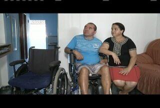 Após uma reportagem do Inter TV Notícia, cadeirante ganha cadeira motorizada - Um exemplo de solidariedade.