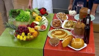 Planejamento é necessário para não engordar nas festas de final de ano - O endocrinologista Bruno Harpern diz que é preciso planejar com antecedência o que vai comer.