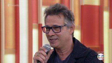 Nelson Freitas assumiu as filhas de sua esposa - Humorista conta sobre a relação com suas enteadas e declara seu amor incondicional pelo neto