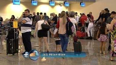 Especialista responde a perguntas sobre os direitos dos passageiros - Vice-presidente da Comissão do Direito do Consumidor da OAB-GO, André Cortês responde a perguntas de telespectadores.