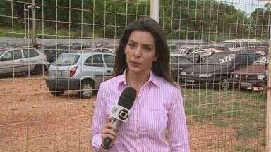 Grupo invade pátio, agride porteiro e rouba motos em Ribeirão Preto - Ao todo, seis motocicletas foram roubadas. Local é mantido por empresa que presta serviço para o DER.