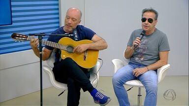Cantor Nasi e guitarrista Edgard Scandurra falam sobre show do projeto Ira Folk! em MS - Cantor Nasi e guitarrista Edgard Scandurra falam sobre show do projeto Ira Folk! em MS