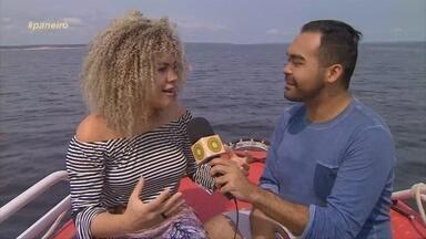 Ariel Moura revela emoção de ter participado do 'The Voice Brasil' - Cantora representou o Amapá.