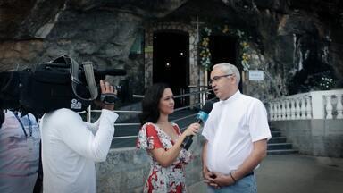 Pé na Pista faz turismo religioso em Bom Jesus da Lapa - Pé na Pista faz turismo religioso em Bom Jesus da Lapa