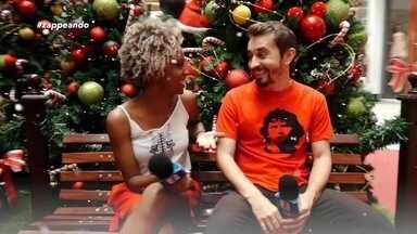Parte 1: Programa começa em clima de Natal - Jaque Santtos e Moacyr Massulo visitam o Papai Noel.