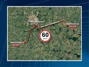 Motoristas devem ficar atentos com trechos em obras de rodovias - Velocidade precisa ser reduzida pois há locais com desvios.