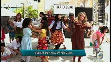 Musical de natal será apresentado em Petrolina - O espetáculo é sobre o nascimento de Jesus, contado de forma bem alegre e dinâmica.
