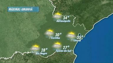 Natal vai ser quente e com pancadas de chuva - As altas temperaturas podem provocar temporais.