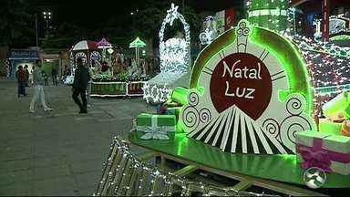 Veja detalhes da programação do 'Natal Luz' de Garanhuns - Programação da festividade natalina segue até o fim do ano.