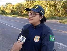 PRF realiza a operação de prevenção de acidentes nas estradas - A operação é devido ao alto número de veículos de passeio nesta época do ano.