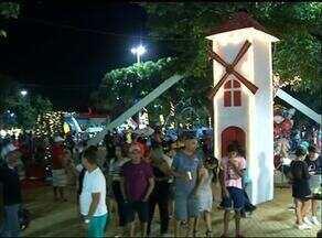 Moradores de Araguaína prestigiam a vila de Natal da cidade - Moradores de Araguaína prestigiam a vila de Natal da cidade