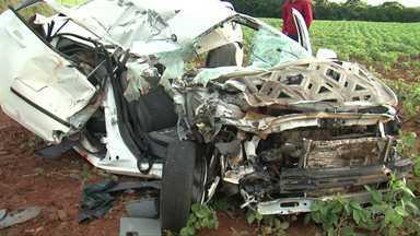 Morre mais uma vítima do acidente de Mangueirinha - Batida foi semana passada