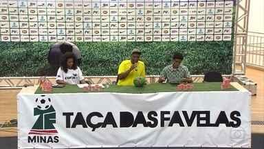 Reunião discute organização e cronograma da Taça das Favelas - Competição vai ser realizada no ano que vem.