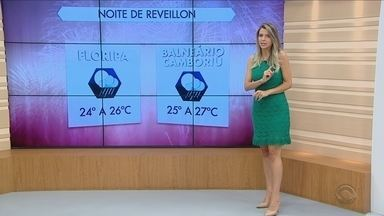 Confira a previsão do tempo em Santa Catarina no último dia de 2016 - Confira a previsão do tempo em Santa Catarina no último dia de 2016
