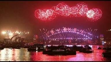 Veja como foi a virada nos países que já estão em 2017 - Em algumas partes do mundo, o Ano Novo já chegou. Os moradores das ilhas de Tonga e Samoa, no Pacífico Sul, foram os primeiros a celebrar o réveillon.