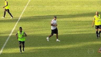 Na Cidade do Galo a semana é de treinos intensos e apresentação de um velho conhecido - Roger Machado mostrou ser intenso nos treinamentos e Rafael Moura foi apresentado novamente a torcida