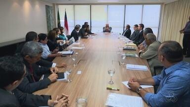 Governo reúne representantes de órgãos públicos para definir ações de segurança em Manaus - Encontro ocorreu na sede do governo, nesta segunda (9).