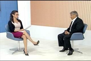 Prefeito de Unaí participa de entrevista no MG Inter TV - O prefeito José Gomes tem como prioridade pagar os salários atrasados.