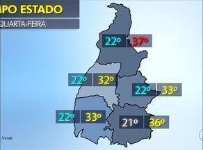 Veja como fica a previsão do tempo em todas as regiões do Tocantins - Veja como fica a previsão do tempo em todas as regiões do Tocantins