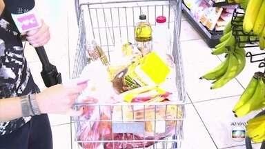 Veja a variação de preços dos itens da cesta básica - Nadia Bochi revela quem são os vilões na hora das compras e mostra dica para economizar com o feijão, item que registrou o maior aumento em 2016