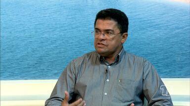 Prefeito de Alenquer é o entrevistado no Jornal Tapajós desta quinta-feira - Em entrevista, ele destacou as áreas da saúde, educação e sistema viário.