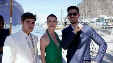 João Vicente de Castro mostra os bastidores do casamento frustrado de Léo e Diana - Ator explica a ideia que seu personagem Lázaro teve para evitar o casamento da amada com o cantor na novela 'Rock Story'