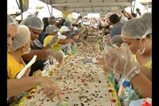 Aniversário de Belém é comemorado no Ver-o-Peso e com bolo de 15 mestros - Capital do estado do Pará comemora 401 anos