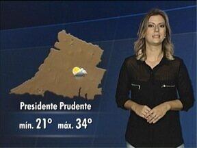 Saiba como ficam as temperaturas nesta sexta-feira - Tempo segue bastante instável no Oeste Paulista.