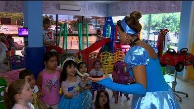 Cresceu a procura pelas colônias de férias em Petrolina - A criançada brinca e participa de atividades nas colônias de férias.