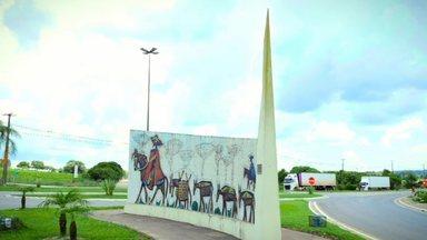 Descubra o Paraná: bem-vindo à Lapa! - A moradora Emanuelle Andrade guiou o 'Estúdio C' durante o passeio na cidade histórica