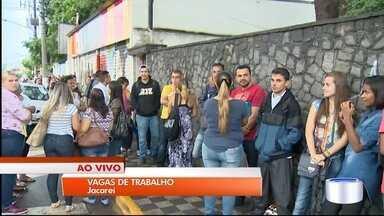 Jacareí está com 197 vagas de trabalho abertas - Vagas são para supermercado que deve ser inaugurado até março.