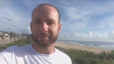 'De olho no verão': Morador de Itajaí fala sobre a presença de animais na Praia Brava - 'De olho no verão': Morador de Itajaí fala sobre a presença de animais na Praia Brava