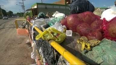 Lixo acumulado em ruas de Campo Grande causa transtornos a moradores - Lixo acumulado em ruas de Campo Grande causa transtornos a moradores