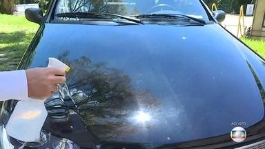 Saiba como evitar danos em carros expostos à variação do tempo - Altas temperaturas podem queimar a pintura e ressecar o painel. Chuva e poeira é uma combinação que também traz prejuízos.