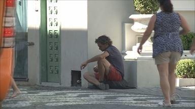 Número de moradores de rua em Itajaí triplicou nos últimos 9 meses, diz prefeitura - Número de moradores de rua em Itajaí triplicou nos últimos 9 meses, diz prefeitura