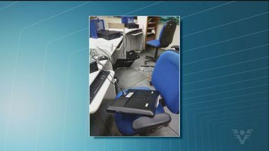 Homem depreda agência do INSS de Santos - Ele quebrou vidros e também destruiu computadores dos funcionários da Previdência.