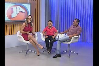 No JA Ideias um bate papo com Lucas Hernandes de 9 anos - O garoto de Santo Cristo, RS, foi selecionado no The Voice Kids.